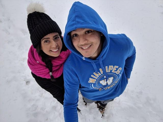 Como é o inverno rigoroso no Canadá?