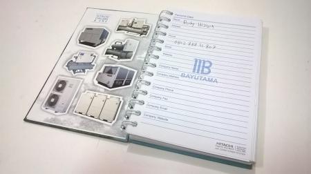 Desain & Cetak Buku Catatan (Note Book) PT Metropolitan Bayutama