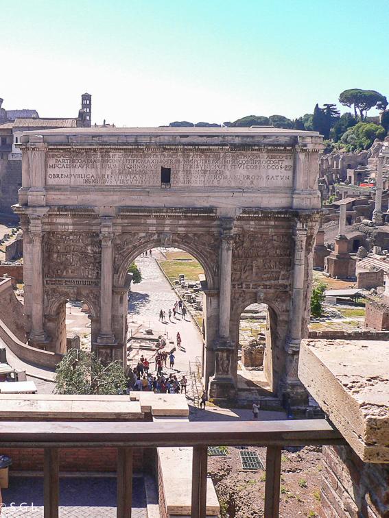 Arco de Septimio Severo. Roma