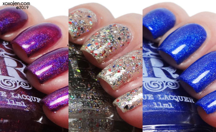 xoxoJen's swatch of Rogue Holodays duo and Doorbuster