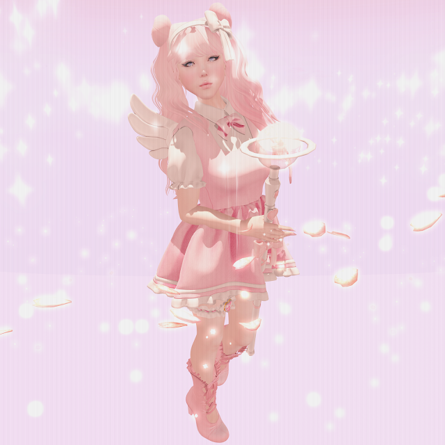 「mystical magical girl」