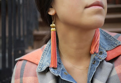 tassel earrings, diy earrings, earrings, diy, diy crafts, diy craft ideas, earrings, diy earrings, diy necklace, necklaces, diy projects