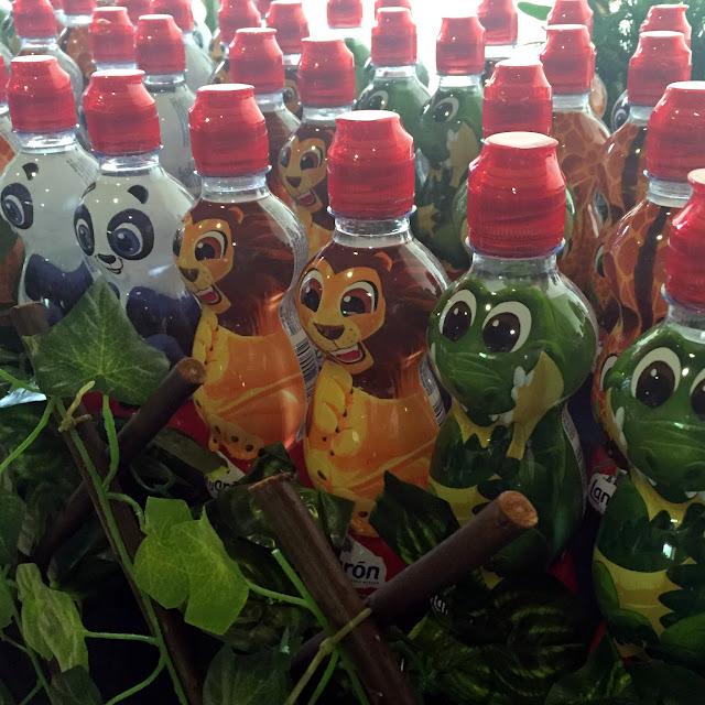 Las botellas de Lanjarón Kids para una fiesta temática