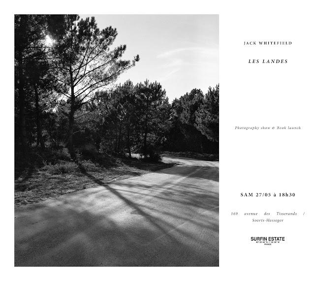 Jack Whitefield Les Landes - Samedi 27 mai chez Surfin Estate