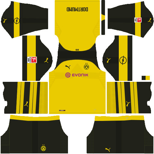 the best attitude 0f8ef 0a805 Borussia Dortmund 2018/2019 DLS & FTS Kits and Logo - wid10 ...