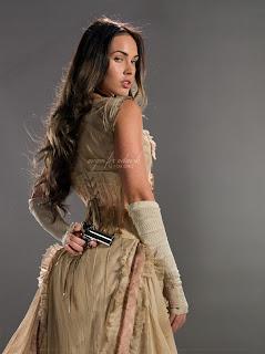 Megan Fox In Action With Pistol 4