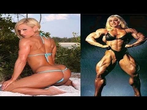 bodybuilder Joanna Thomas