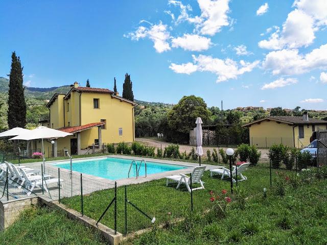 casa vacanze Casa Giulia Toscana con piscina,animali ammessi
