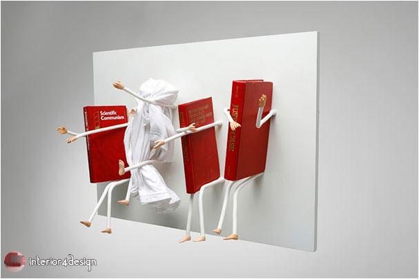 70 Best Bookshelf Designs 55