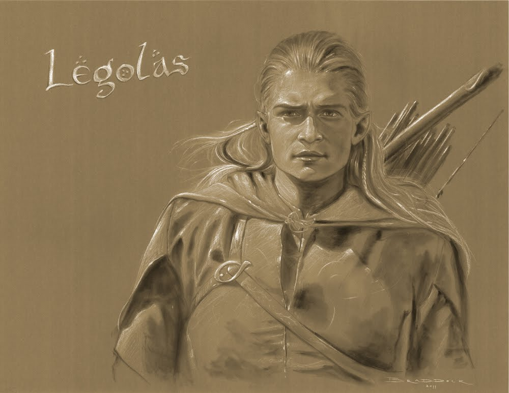 Top Lord of the Rings Portraits: 2 | The Art of Eric Braddock KH01