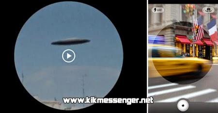 Graba y comparte videos redondos con Video Round para Kik