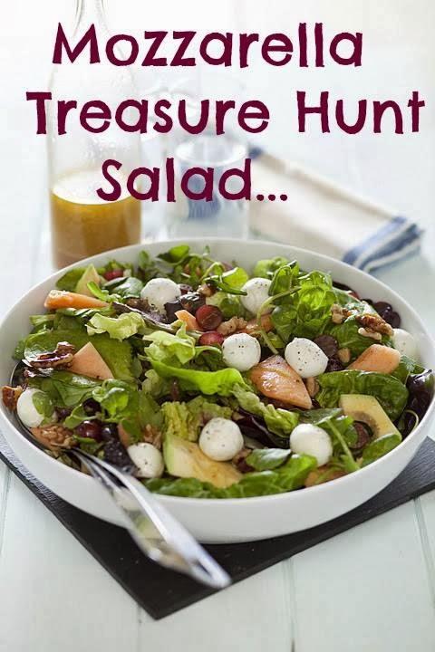 Mozzarella Treasure Hunt Salad: Meal Prep Ideas