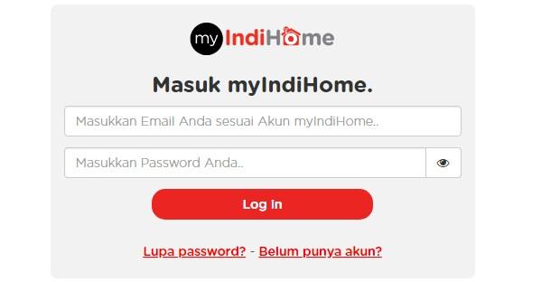 Cara Cek Kuota Internet Indihome Via Website Resmi Terbaru 2019 ii