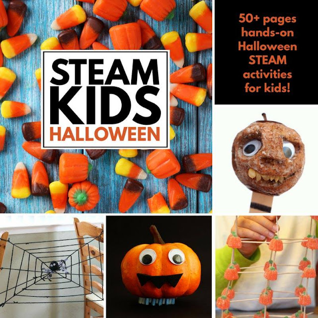 STEAM Kids Halloween activity book