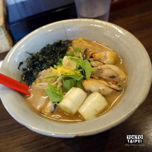 【麵屋大河】冬季限定 超肥美大顆牡蠣配味噌拉麵