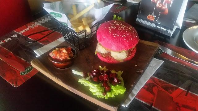 Tex Mex Veg Burger