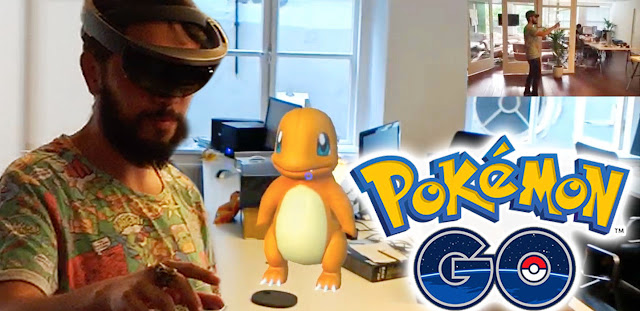 Bermain Pokemon Go Dengan Perangkat Hololens Bukan Hoax