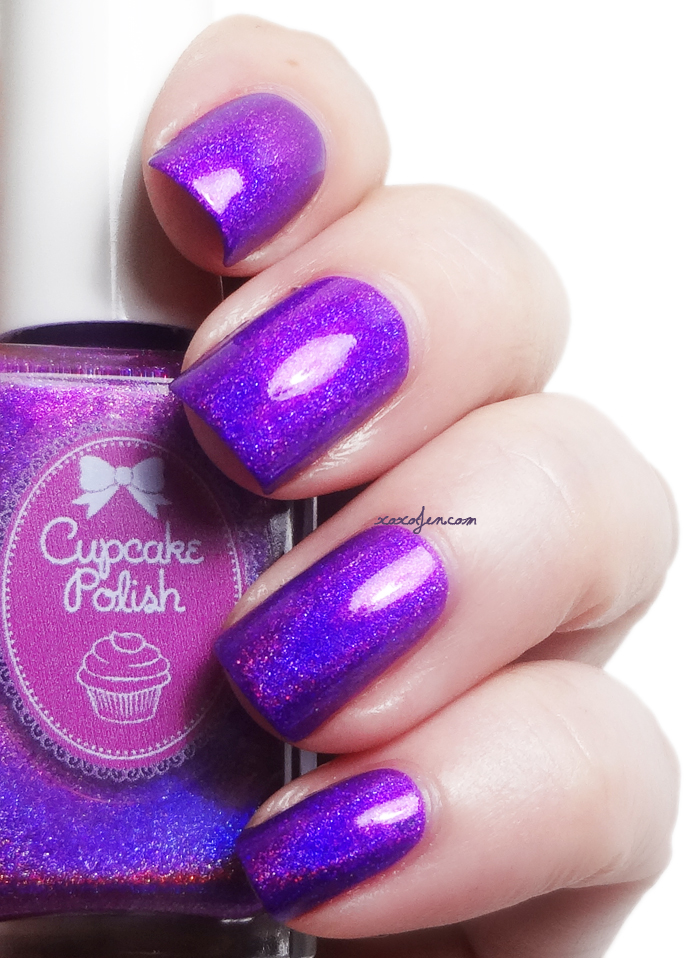 xoxoJen's swatch of Cupcake Polish Berry Good Looking