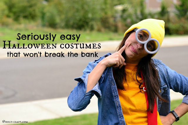 DIY Halloween costumes that aren't expensive