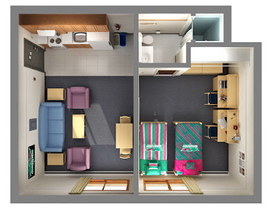 best 3d open floor plans for shared home