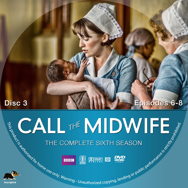 Call The Midwife Season 6 Disc 3 DVD Label