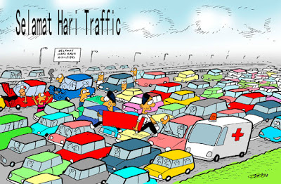 Selamat Hari Raya Selamat Hari Trafik Juga ;)