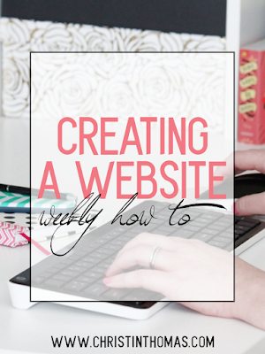 Creating A Website On Weebly