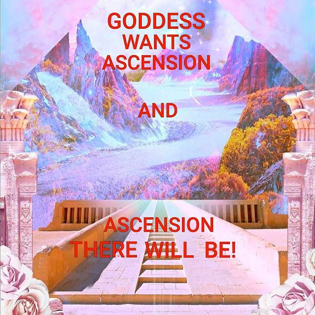 女神選擇揚升;揚升勢在必行。