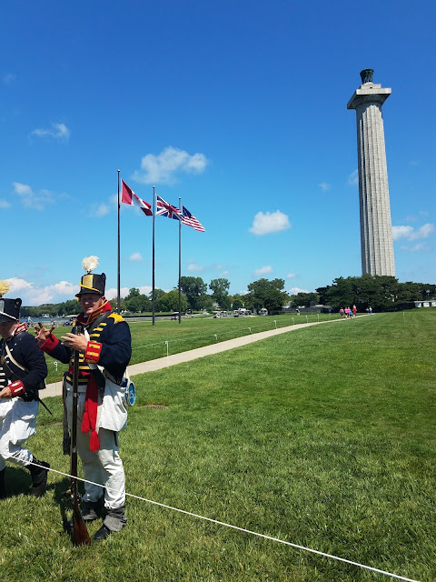 War of 1812 Soldiers, Put in Bay, Battle of Lake Erie