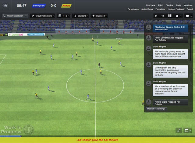 New 3D Look for Matches in Football Manager 2013