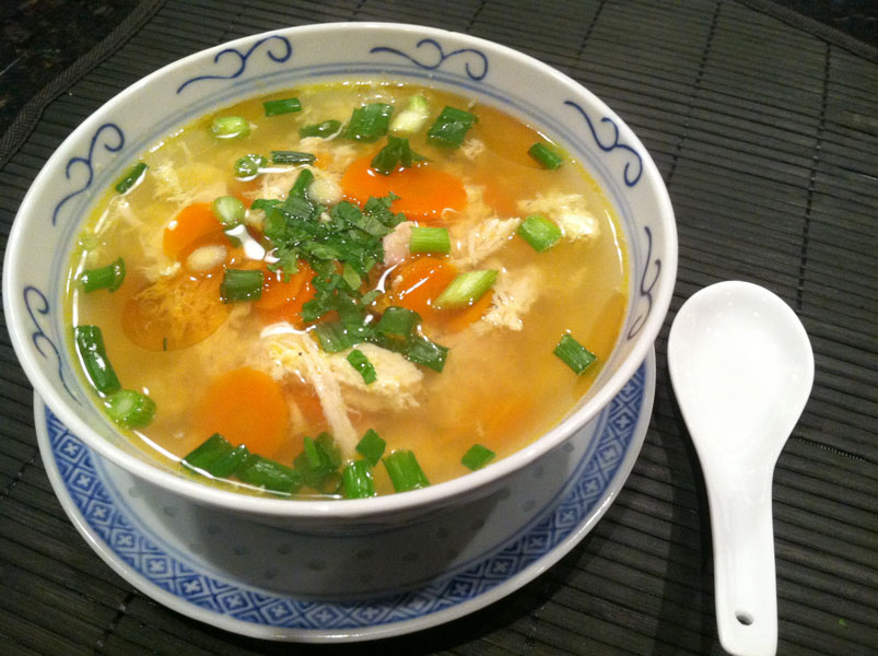 Paleo Chinese Chicken Soup