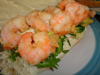 Prawns on a Sub
