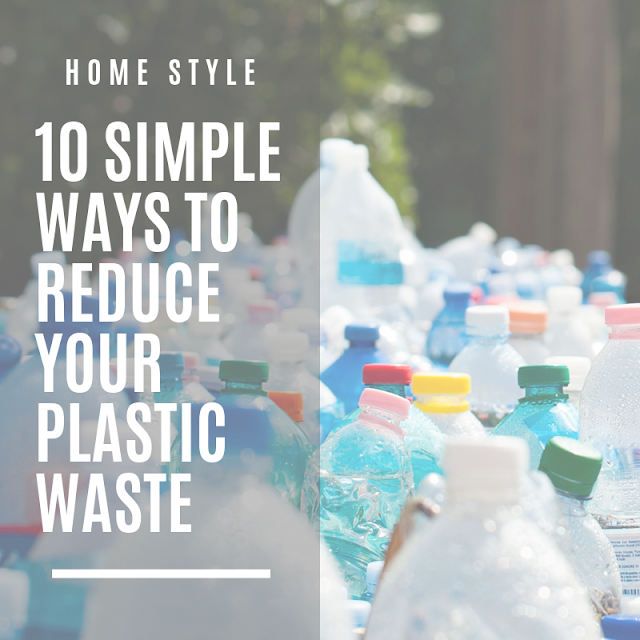 reducing plastic waste less plastic in the home