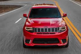 2018 Jeep Grand Cherokee Trackhawk -front