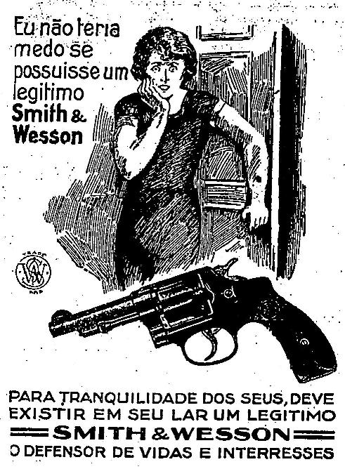 Propaganda das Armas Smith & Wesson em 1929