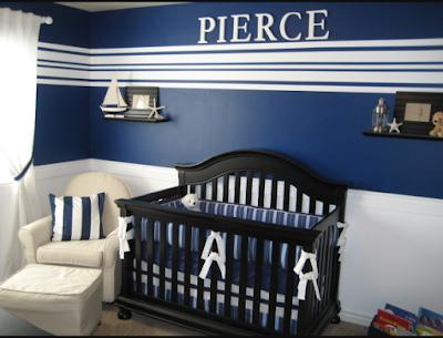 decorar habitacion bebe azul