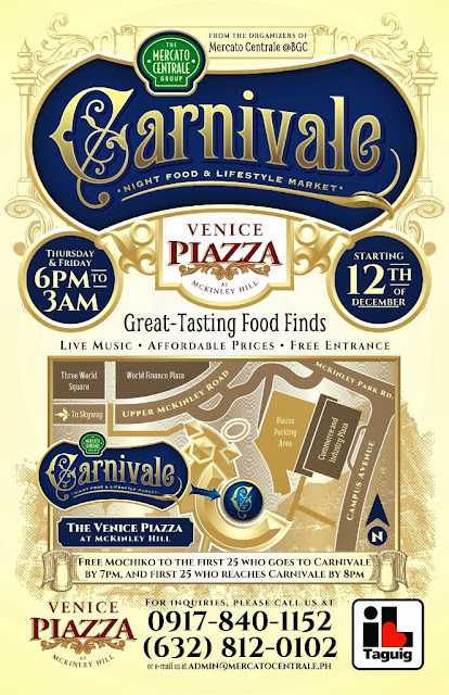 Carnivale at The Venice Piazza Mall at McKinley Hill Mercato