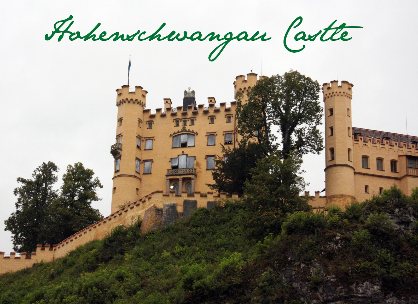 Hohenschwangau Castle - The Tipsy Terrier blog