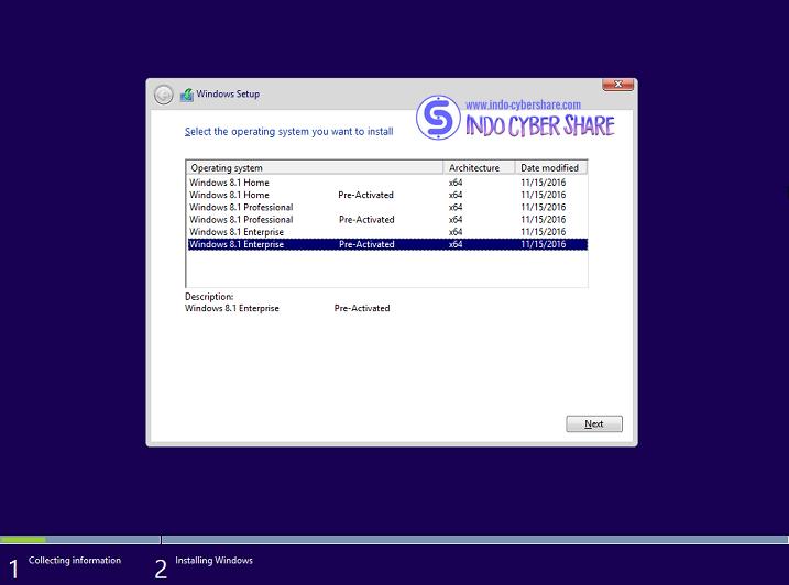 Windows 8.1 All in One x64 Update November 2016