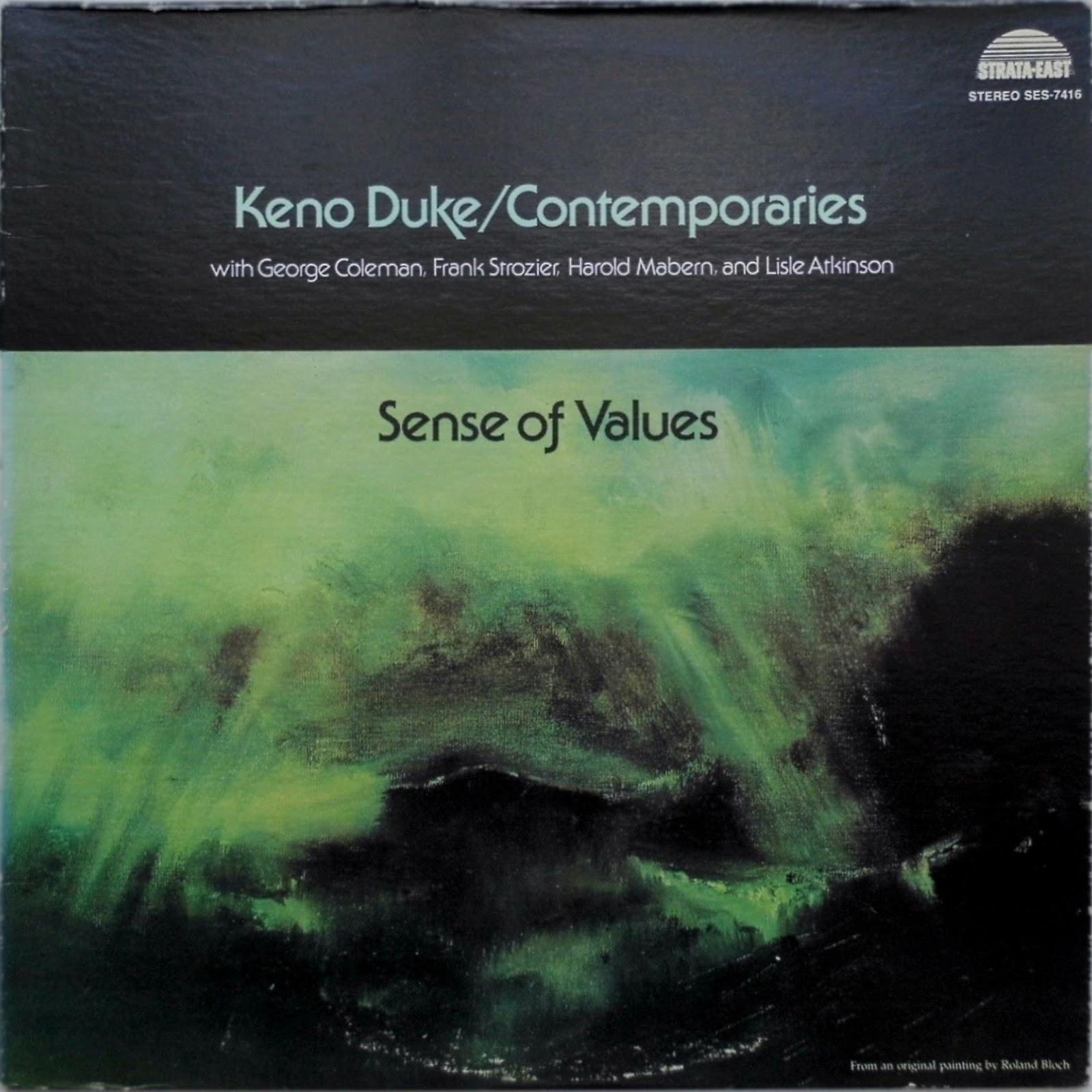 Keno duke contemporaries sense of values