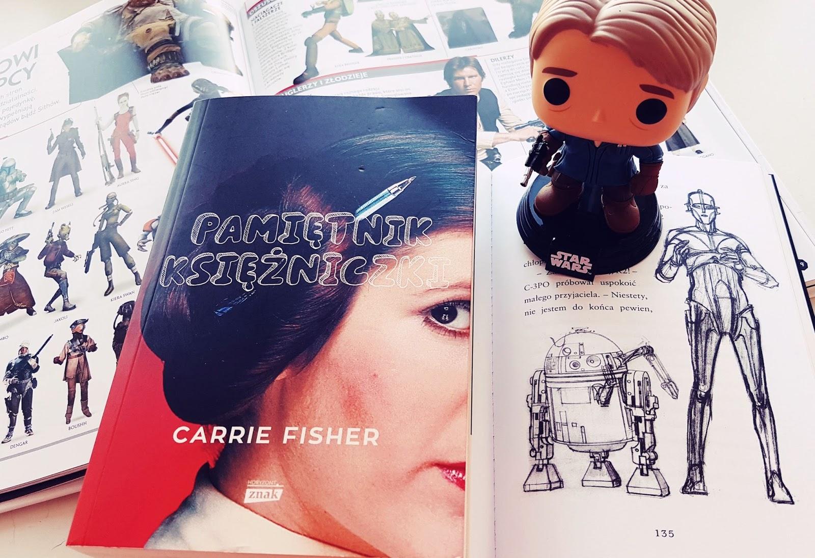 Pamiętnik księżniczki - Carrie Fisher, Leia w ziemskim wydaniu
