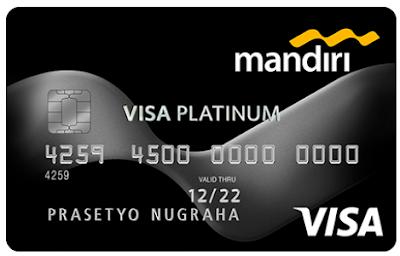 Kartu kredit mandiri platinum card