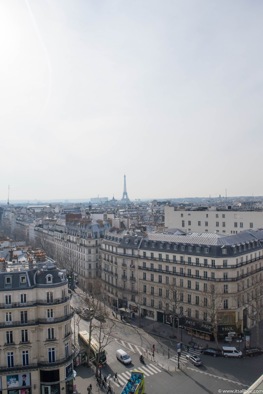 Paris Rooftops | Weekend Brunch At Printemps Rooftop Terrace