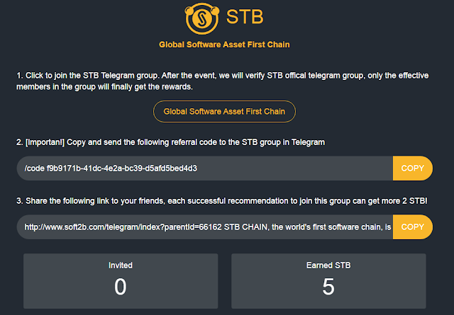 STB Chain - Free 5 STB Token - Earn Free Bitcoins, Free