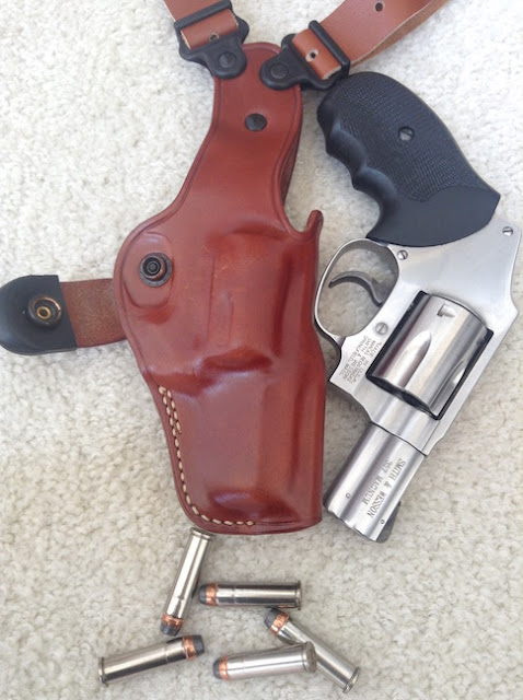 The Next Chapter: Review of GALCO VHS Vertical Shoulder Holster