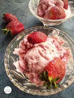 Strawberry icecream