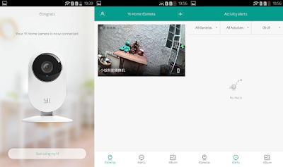 Xiaomi Yi Home Camera UI