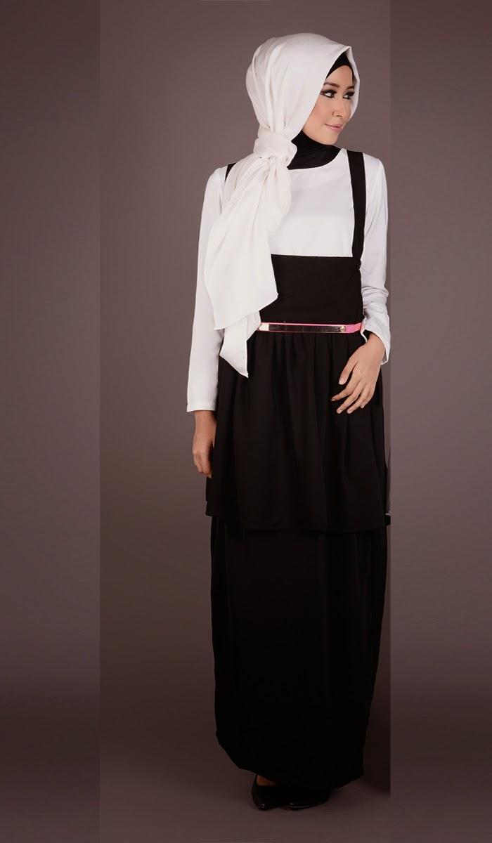 Fesyen Baju Hitam Putih