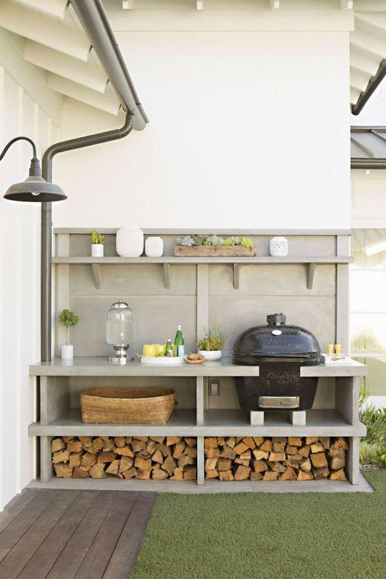 Ideas para cocinas exteriores