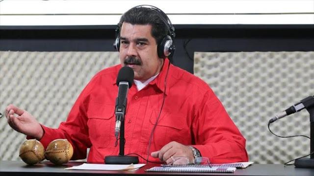 Maduro denuncia a EEUU por liderar plan 'mafioso' contra PDVSA